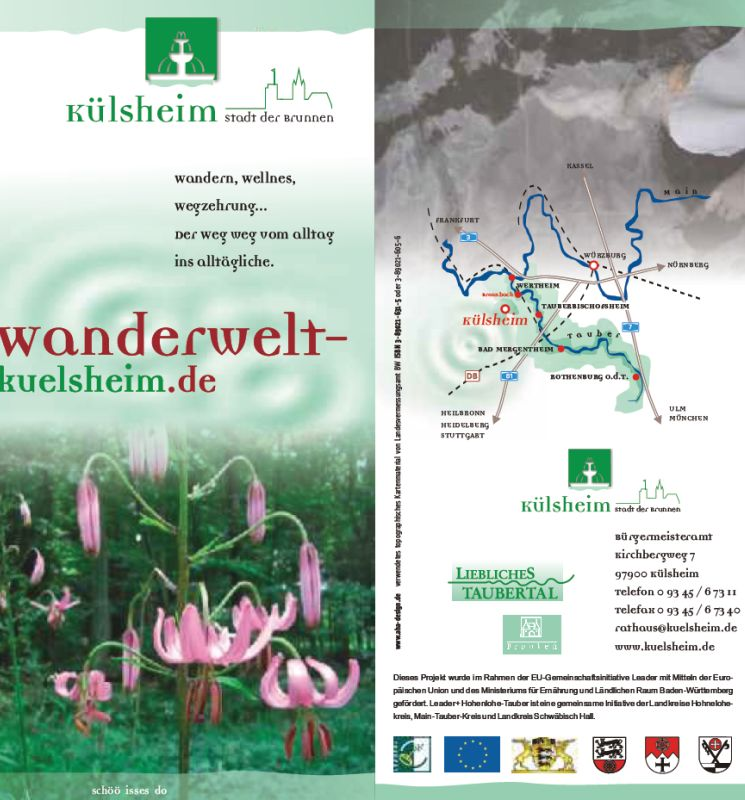 Scrrenshot Flyer Wanderwelt